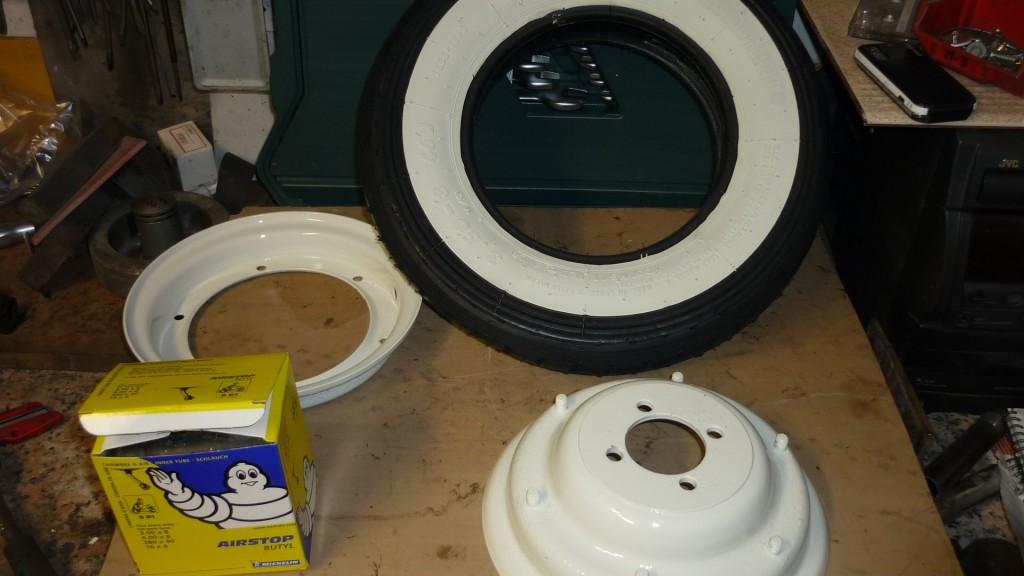 preparamos las ruedas