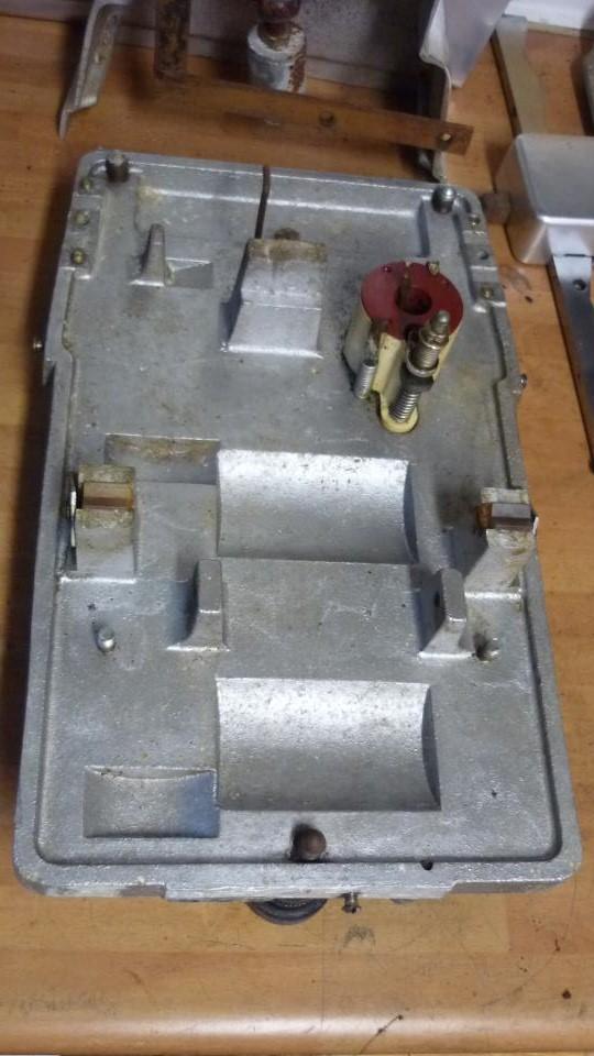 limpiamos bien el barro y oxido de la plataforma