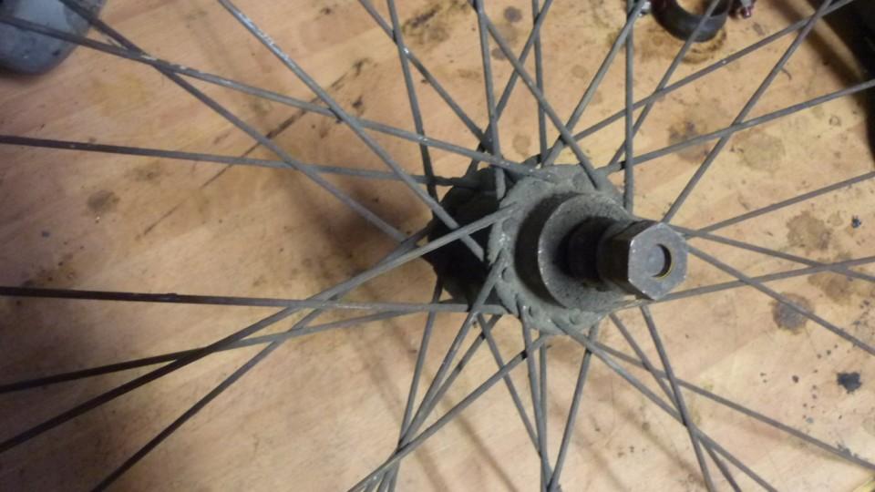 las ruedas tienen su grasilla protectora