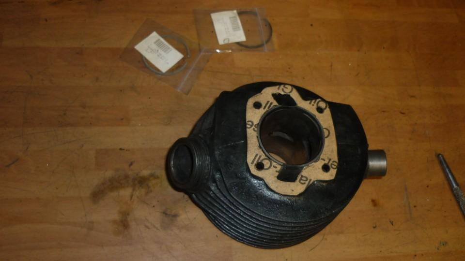 preparamos el cilindro limpio y con junta nueva