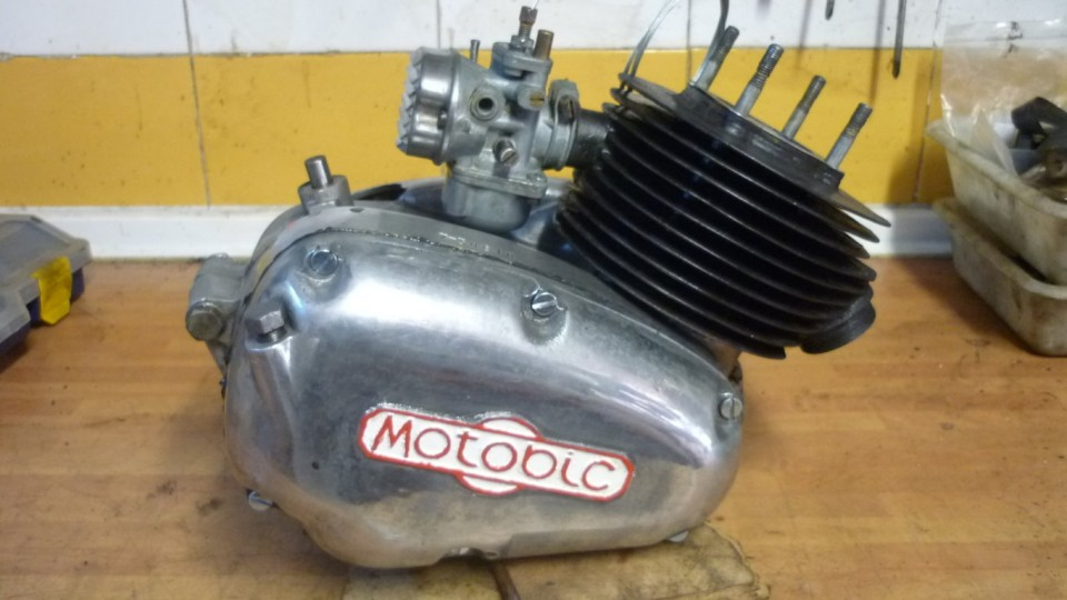 el motor a falta de la culata