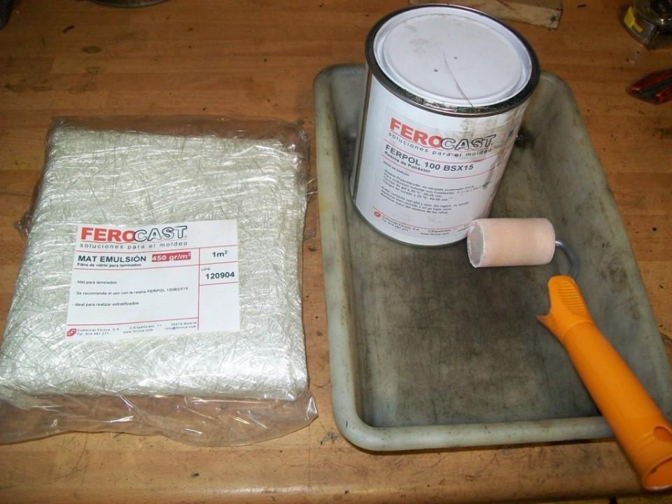 Con un kit de resina de FEROCA, y poco más haremos la pieza