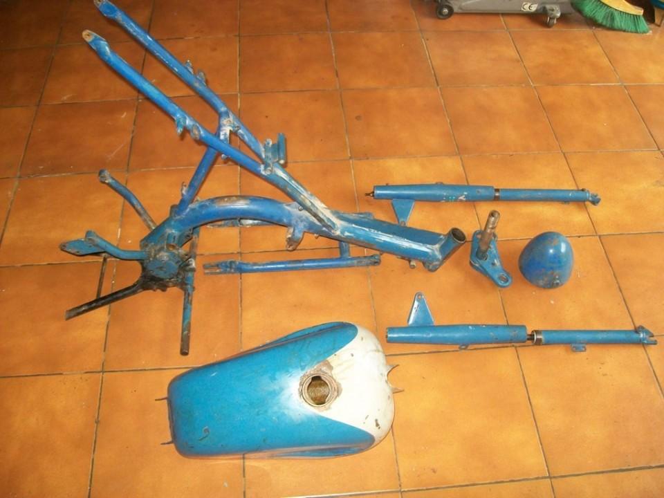 preparamos las piezas azules