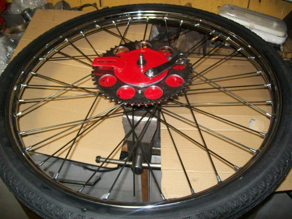 rueda terminada con camara y cubierta
